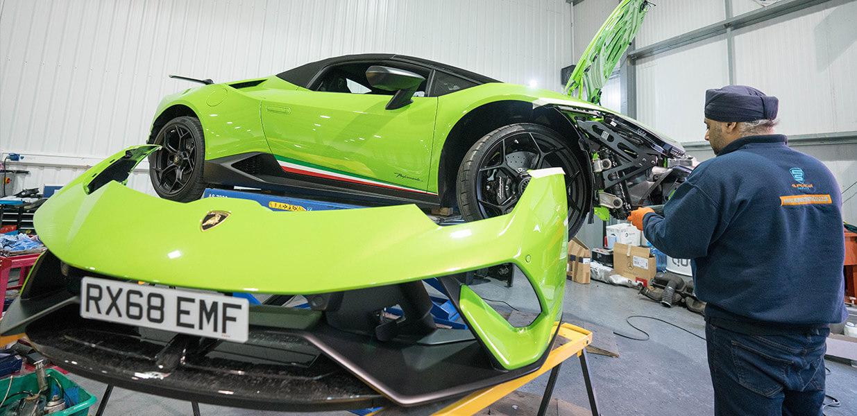 Lamborghini Servicing and Repairs